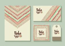 名族风vi设计波西米亚风装饰素材