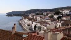 欧洲海滨建筑城市风景视频