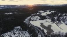 大自然航拍视频素材