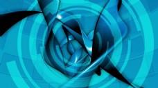 蓝色抽象视频背景