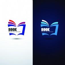 简约商务书本彩色书籍icon矢量