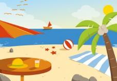 沙滩旅游素材