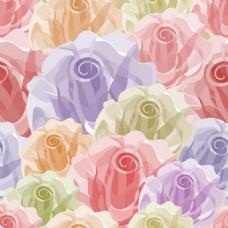 植物花纹图案矢量背景