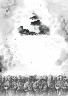抗战胜利纪念海报