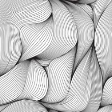 几何线条波浪矢量素材