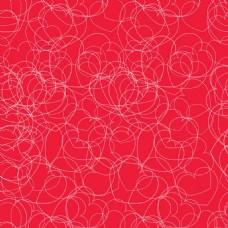 线条爱心红色背景