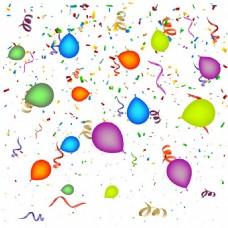 气球装饰图案