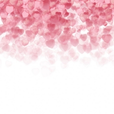 粉色爱心情人节