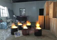 篝火壁炉 仿真火盆 结婚火盆