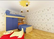 儿童房效果图