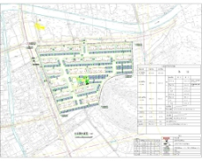 多层住宅小区总平面图施工图