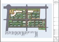 升龙又一城总规划建筑平面图