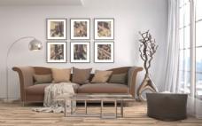 现代风格客厅效果图图片