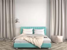 现代简约卧室效果图图片