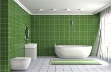 现代风格卫浴效果图