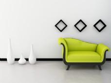 现代家居客厅家装效果图