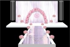 婚礼效果图设计模板