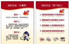 消防三提示 四个能力 消防安全