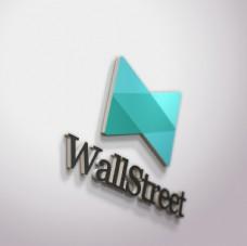 公司形象墙立体logo贴图