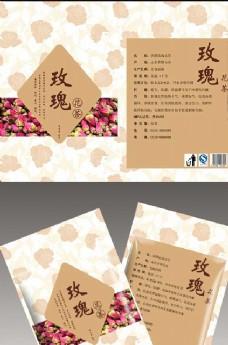 玫瑰花茶包装