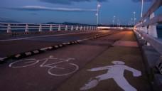 滨河路风景视频