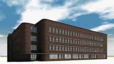 学校建筑视频素材