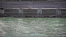 河流河道视频素材