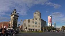 城市建筑蓝天视频素材