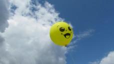 天空气球视频素材