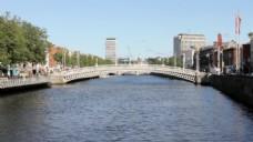 欧洲城市大桥视频