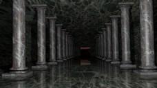 大理石石柱建筑视频