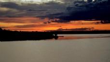 黄昏天空风景视频