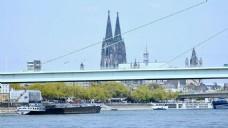 建筑河流视频素材