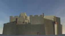 城堡建筑视频素材