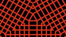 抽象网格视频素材