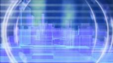 建筑抽象光线视频