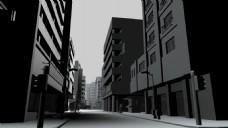 抽象建筑视频素材