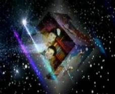 魔幻方块照片展示会声会影模板