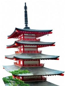 中式复古高楼元素
