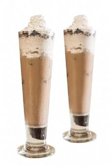 冷饮巧克力冰淇淋元素