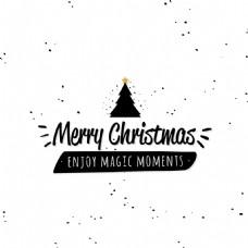 圣诞节艺术字矢量素材