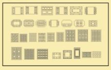 中式窗CDR格式
