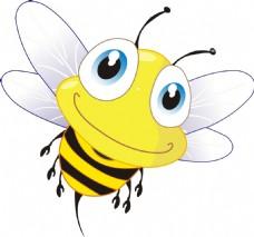 小蜜蜂插画