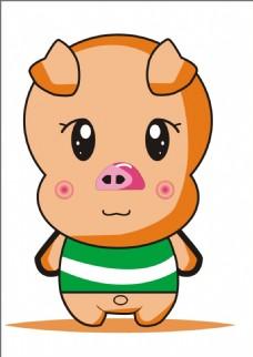 猪大哥插画