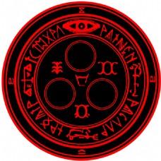 卡通元素符号标志
