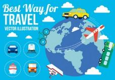 世界环球旅游素材