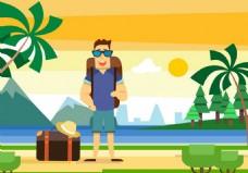 旅游度假矢量素材
