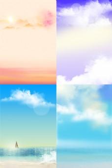 天空背景图