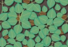 植物叶子矢量素材