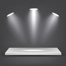 灯光舞台矢量素材
